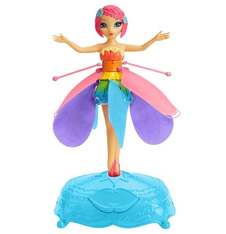 Интерактивная кукла «Летающая Фея с подсветкой, парящая в воздухе»