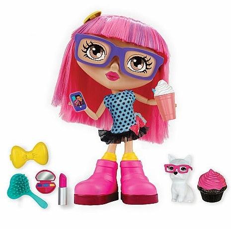 Интерактивная кукла Габби Розовая Gabby Chatsters