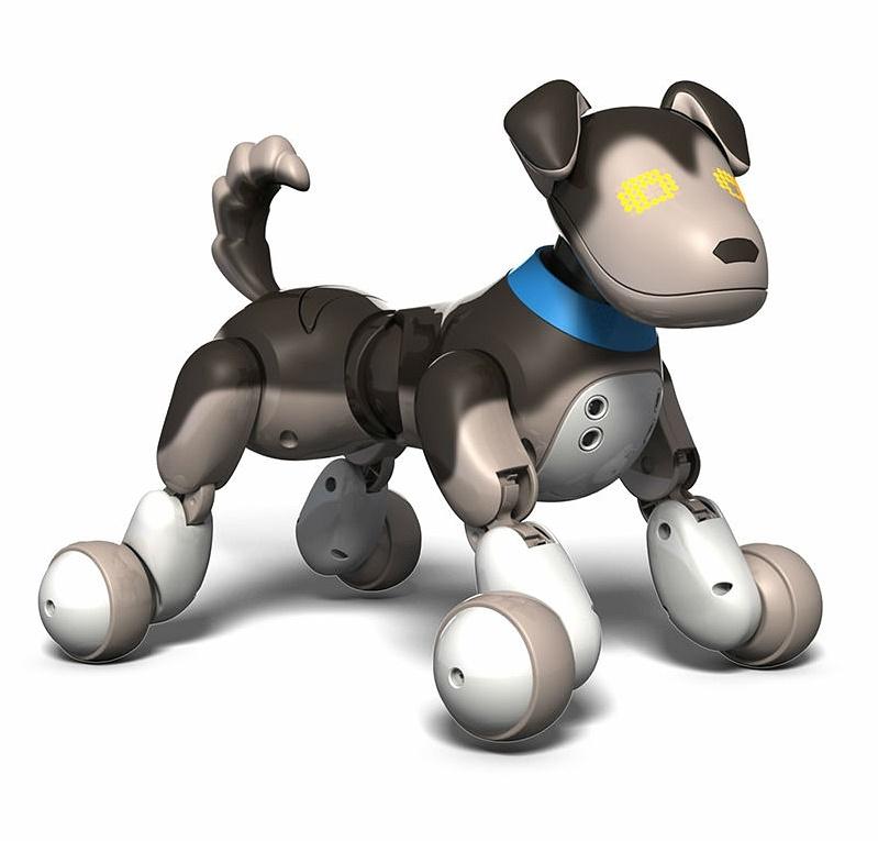 Интерактивный робот-собака Овчарка Шэдоу Zoomer