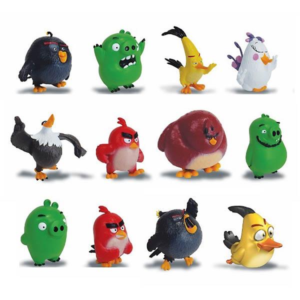 Коллекционная фигурка игрушка 5 см Angry Birds