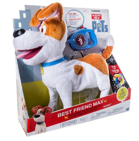 Интерактивная собака Терьер Макс «Тайная жизнь домашних животных»