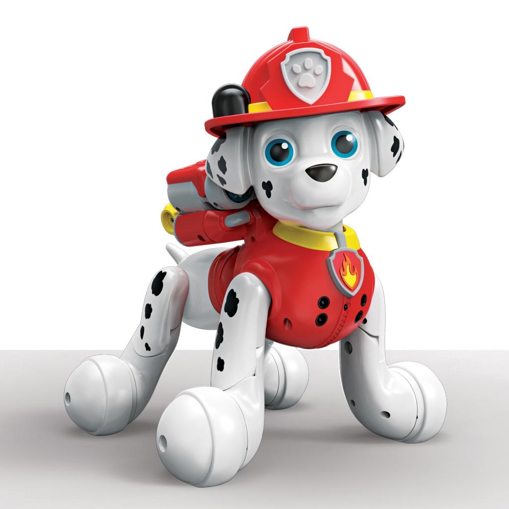 Интерактивный робот-собака Щенок Zoomer Marshall Щенячий патруль