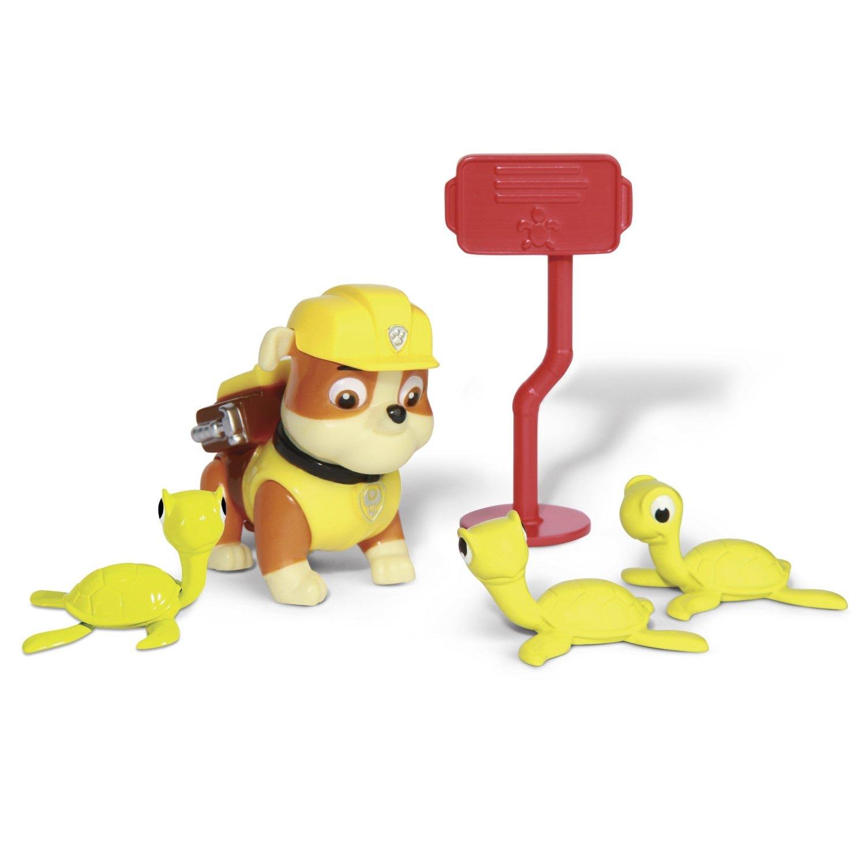 Игрушка Спасатель с питомцем Крепыш с черепашатами «Щенячий патруль» Paw Patrol