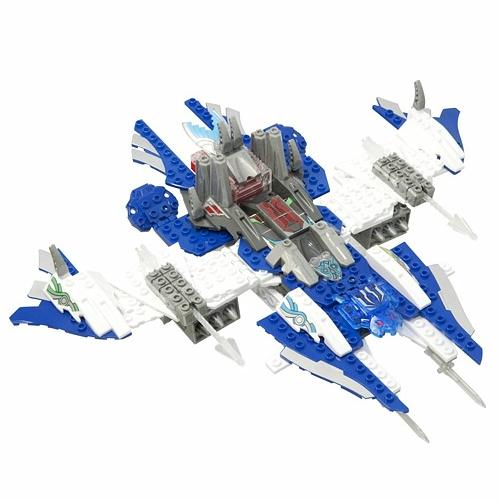 Игрушка Трансформер Десантный корабль 2 в 1 Рыцари Тенкай Tenkai Knights