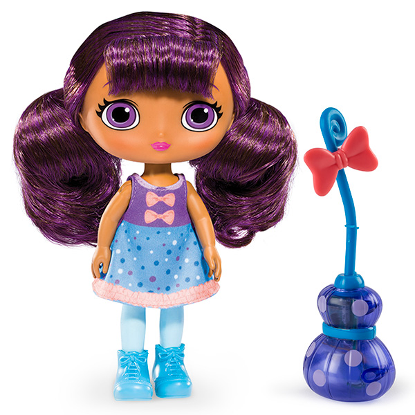 Кукла Лавендер с метлой 20 см свет и звук Lavender Маленькие Волшебницы Little Charmers