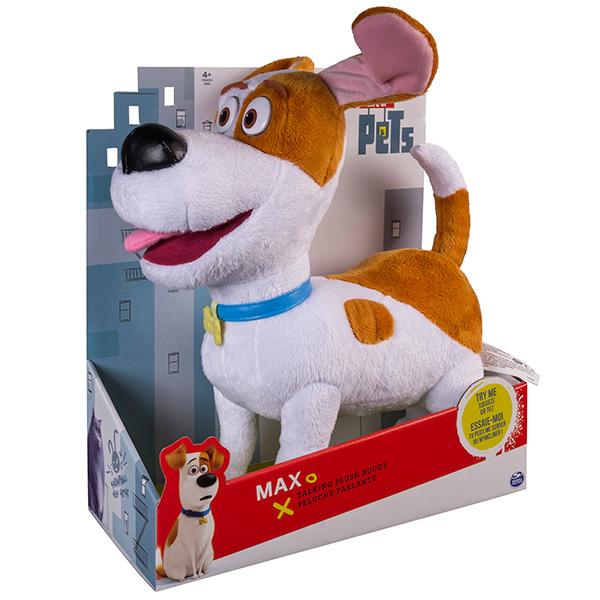 Мягкая игрушка со звуком Терьер Макс 28 см «Тайная жизнь домашних животных»