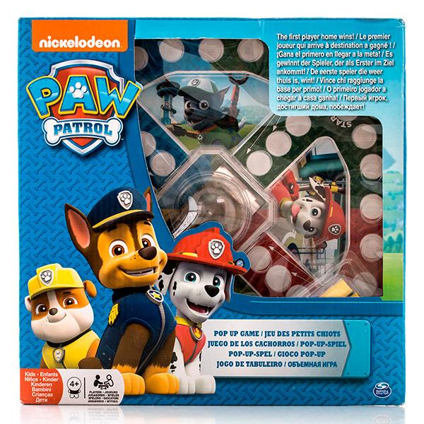 Настольная игра с кубиком и фишками большая «Щенячий патруль» Paw Patrol