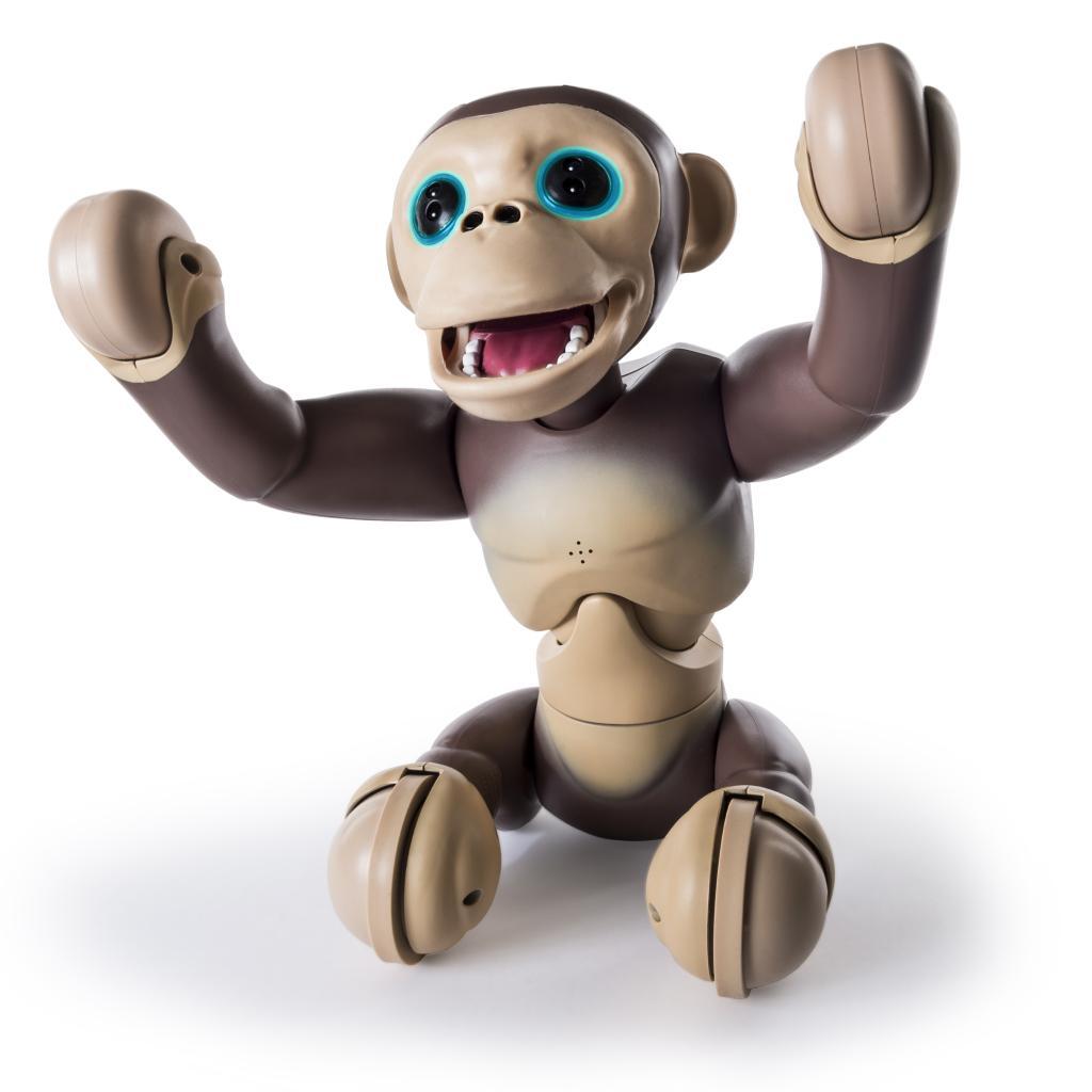 Обезьянка-робот Шимпанзе Zoomer Chimp