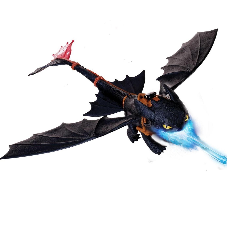 Игрушка «Большой летающий Беззубик дышит огнем» Dragons
