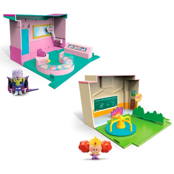 Раскрывающийся игровой набор с фигуркой Суперкрошки Powerpuff Girls