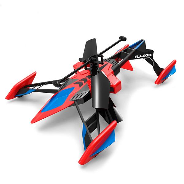Вертолёт-лезвие на радиоуправлении (ездит и летает) Airhogs