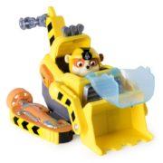 Игровой набор Щенок Крепыш и машина-бульдозер-трансформер Морской Щенячий патруль Sea Paw Patrol