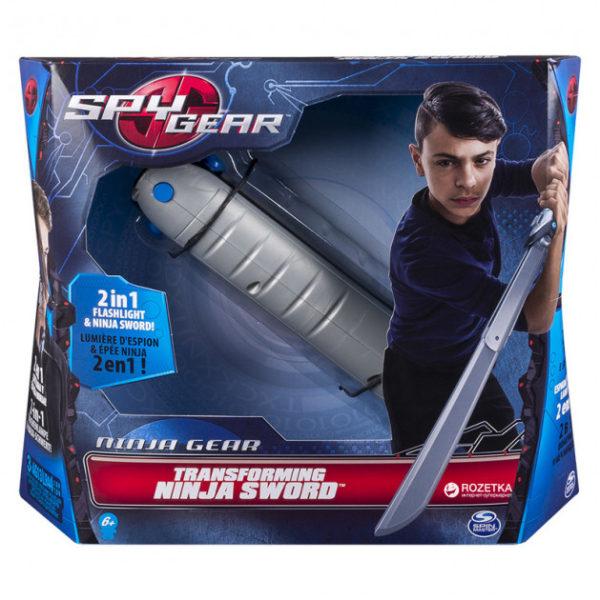 Меч-трансформер Ниндзя с фонариком Spy Gear