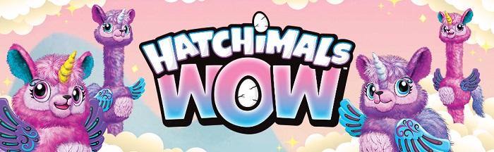 Интерактивная игрушка Лама-единорог Llalacorn HatchiWow растущая Hatchimals