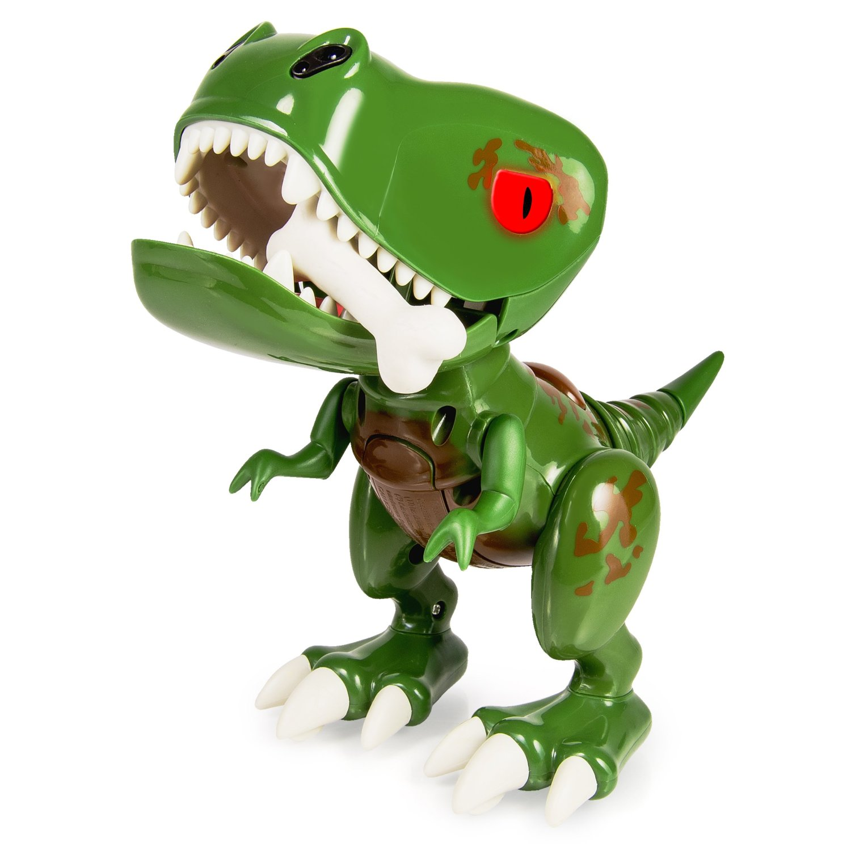 Интерактивный робот-игрушка Детеныш динозавра Dino Chompers Zoomer