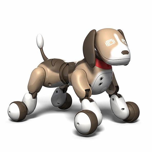 Интерактивный робот-собака Гончая Бентли Zoomer