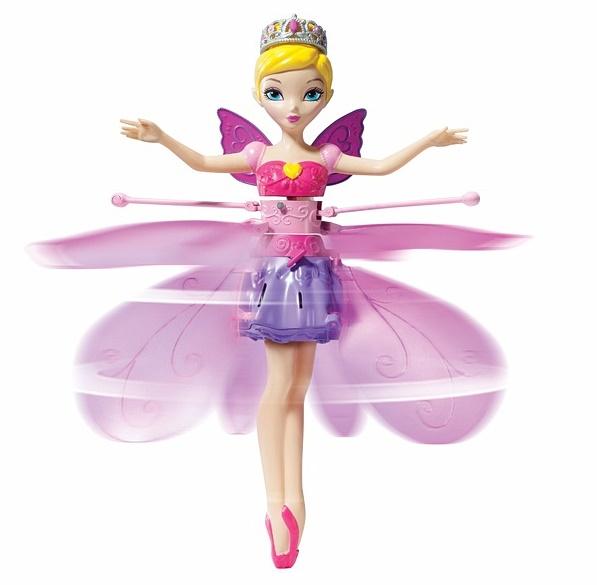 Интерактивная кукла «Летающая Принцесса парящая в воздухе» Flutterbye