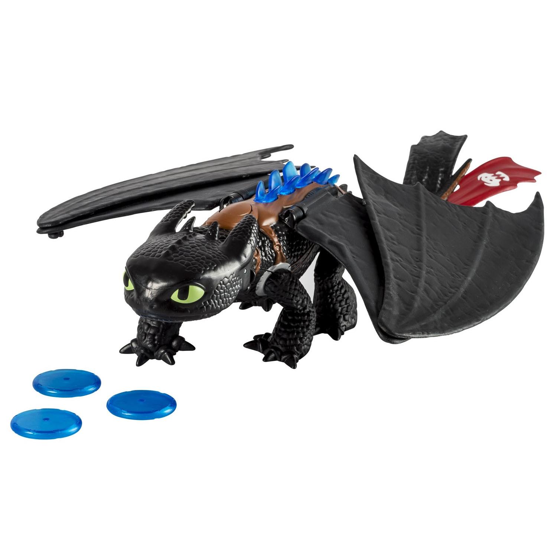 Игрушка Большой Беззубик стреляет дисками Blast and Roar Toothless Dragons 844f4931d5407