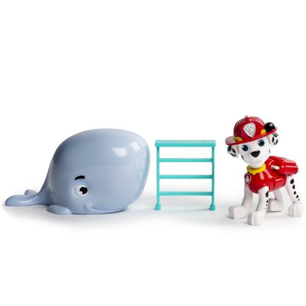 Игрушка Спасатель с питомцем Маршал с китом Щенячий патруль Paw Patrol