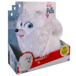 Мягкая игрушка со звуком Шпиц Гиджет 28 см Тайная жизнь домашних животных
