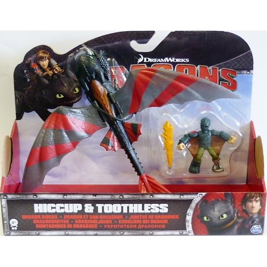 Набор Дракон и всадник Беззубик с боевой раскраской и Иккинг Dragons ... 6b4082597df79
