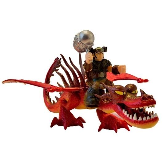 Набор Дракон и всадник Сморкало и Кривоклык Dragons