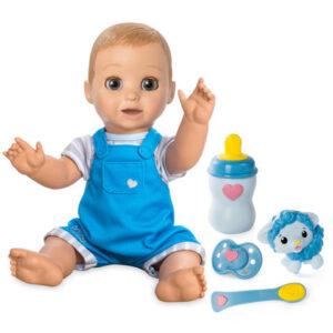 Интерактивная кукла Мальчик-братик Лувабо Luvabeau
