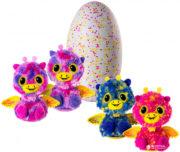 Интерактивная игрушка Жирафики Близнецы Двойной сюрприз в яйце Hatchimals