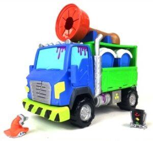 Машина-транспортер с туалетными кабинками Flush Force
