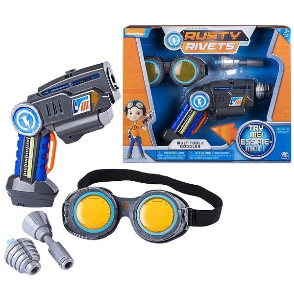 Игровой набор Супер инструмент и очки Расти Rusty Rivets