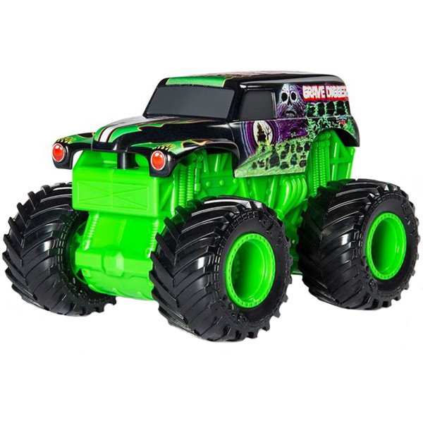 Monster Jam Монстр Джем машинка Звуки мотора Grave Digger