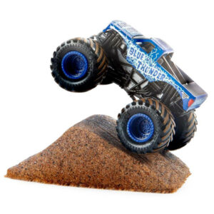 Monster Jam Монстр Джем Blue Thunder игровой набор с машинкой и кинетическим песком