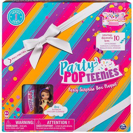 Игровой набор Коробка с сюрпризом Party Popteenies