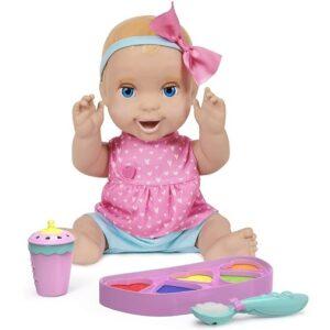 Интерактивная аниматронная кукла Миа Mealtime Magic Mia Luvabella