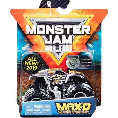 Мини-машинка Max-D Monster Jam