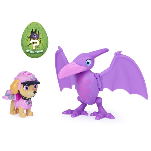 Набор фигурок Скай, Птеродактиль и динозавр-сюрприз Dino Rescue Щенячий патруль Paw Patrol