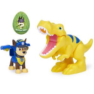 Набор фигурок Чейз, Тираннозавр и динозавр-сюрприз Dino Rescue Щенячий патруль Paw Patrol